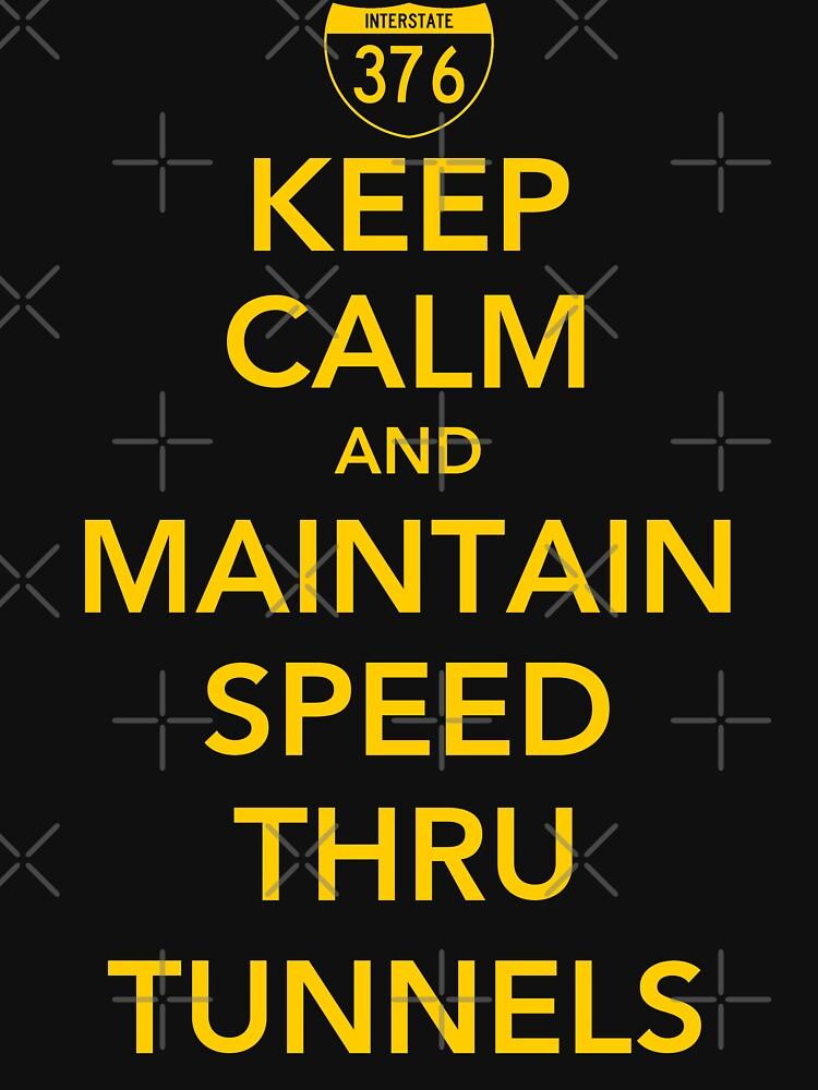 Keep Calm and Maintain Speed Thru Tunnels by AngryMongo
