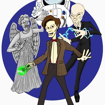11th Doctor by DamoGeekboy