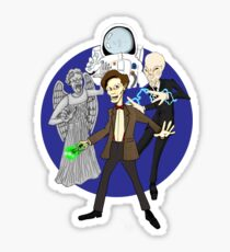 11th Doctor Sticker