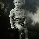 My late father John Slade as a child by Anthea  Slade