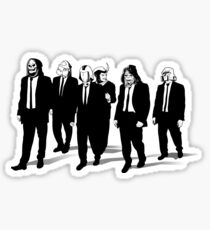 RESERVOIR FOES b&w Sticker