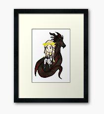 Tipa co o' drago Framed Print