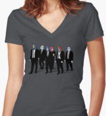 Camiseta entallada de cuello en V RESERVOIR FOES