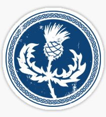 Thistle & Braid - Blue Sticker