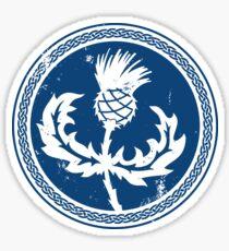 Thistle & Braid - Blue Sticker