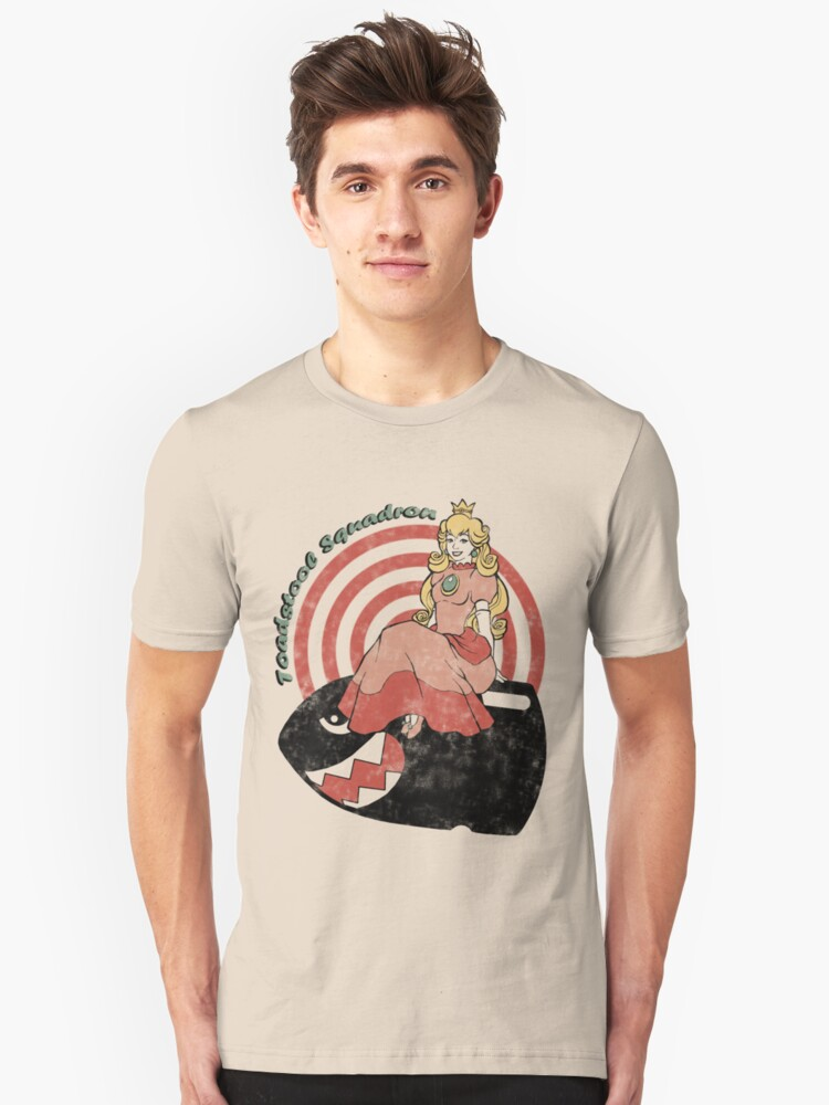 Toadstool Squadron Unisex T-Shirt Front