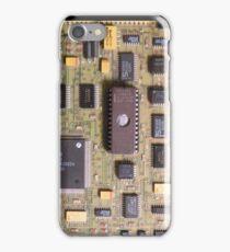 """Retro Circuits #7 """"1984"""" iPhone Case/Skin"""