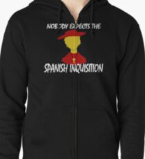 Nobody Expects the Spanish Inquisition Zipped Hoodie