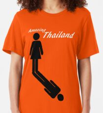 Amazing Thailand Slim Fit T-Shirt
