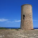 watch tower in  Majorca by anfa77