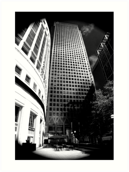 Canary Wharf # 6 by Dale Rockell