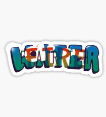 Water Earth Fire Air Sticker