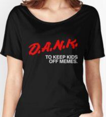 D.A.N.K. Dare Shirt Women's Relaxed Fit T-Shirt