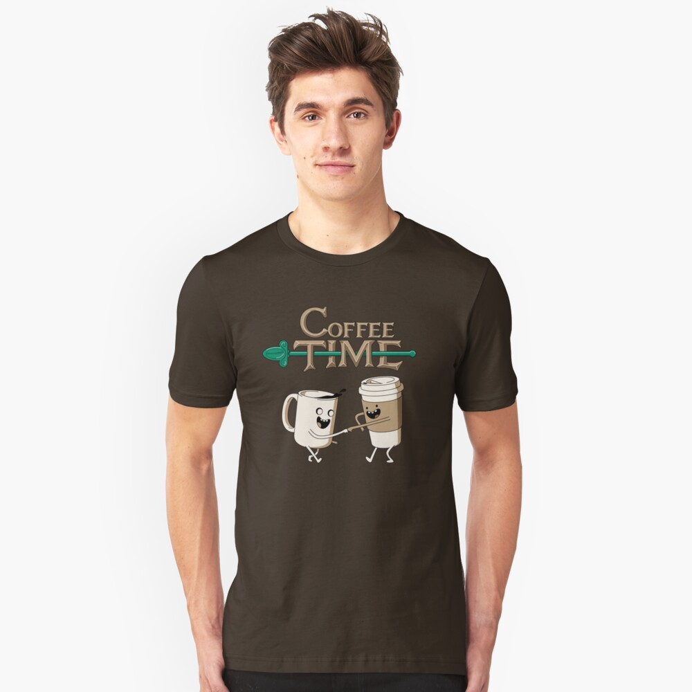 Coffee Time! Unisex T-Shirt Front