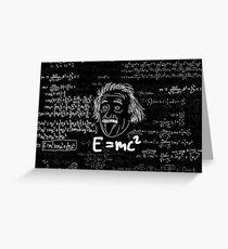 E = mc2 Greeting Card