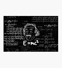 E = mc2 Photographic Print