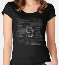 E = mc2 Women's Fitted Scoop T-Shirt