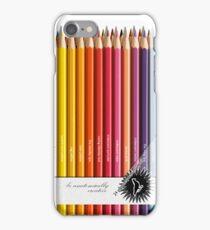 Colouring pencils iPhone Case/Skin
