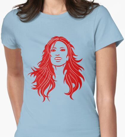 Fang Girl Face T-Shirt
