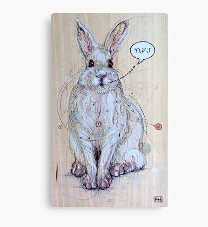 Snow Bunny Canvas Print