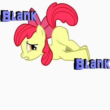 AppleBloom Blank Blank by AwSnapWatchThis