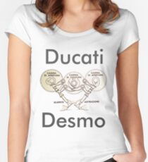 Ducati Desmo Women's Fitted Scoop T-Shirt