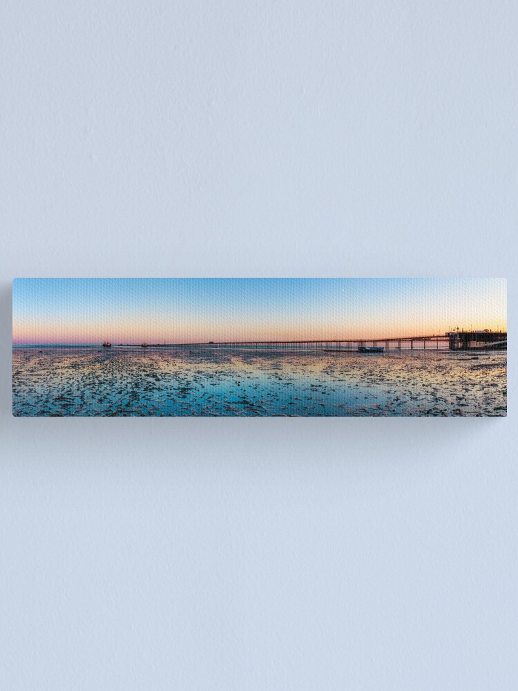 Alternate view of Longest Pier in the World Canvas Print