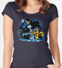 Mario Kombat Women's Fitted Scoop T-Shirt