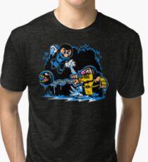 Mario Kombat Tri-blend T-Shirt