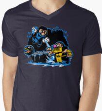 Mario Kombat Men's V-Neck T-Shirt