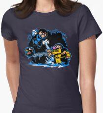 Mario Kombat Women's Fitted T-Shirt