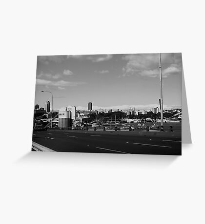 ANZAC Bridge 1  Greeting Card