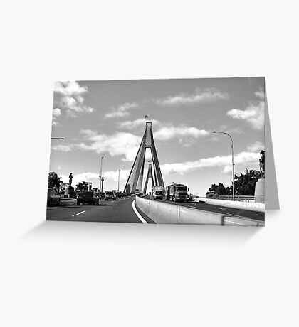 ANZAC Bridge 6 Greeting Card
