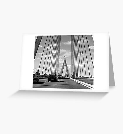 ANZAC Bridge 4 Greeting Card