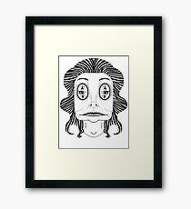 Beetle Bish Framed Print