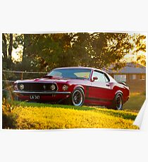 Laurie Attard's 1970 Ford Mustang Poster