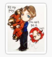 Castle - It's my pony Sticker