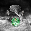 Portrait of a virtual mind. Michele Bachmann. by Alex Preiss