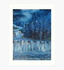 """""""Winter Scene 5""""  by Carter L. Shepard Art Print"""