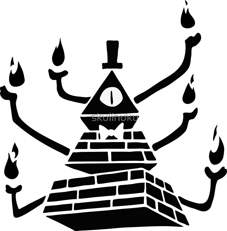 Bill Cipher Coloring Pages