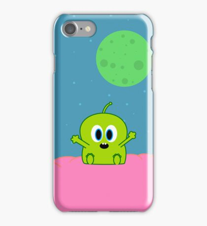 Green Alien iPhone Case/Skin