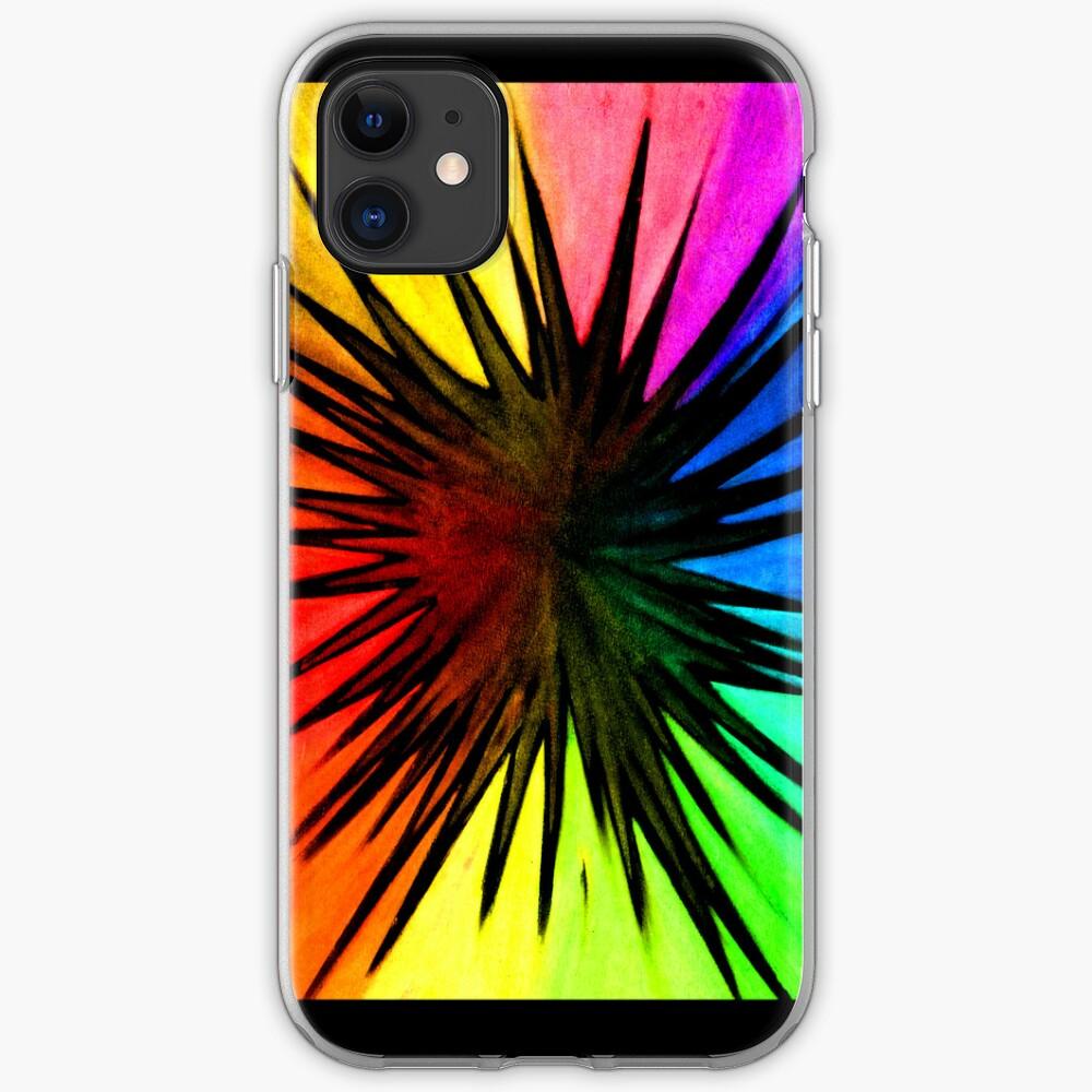 """Rainbow Splat"" - phone iPhone Case & Cover"