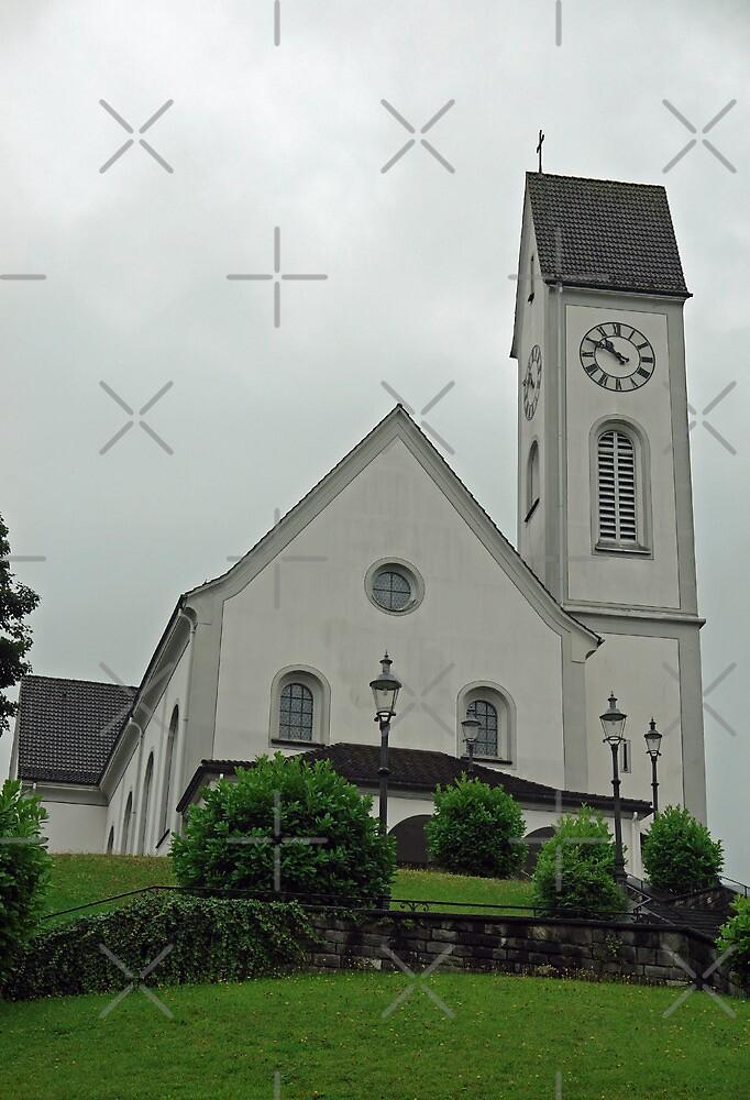 Beautiful church in the Swiss city of Lucerne by ashishagarwal74