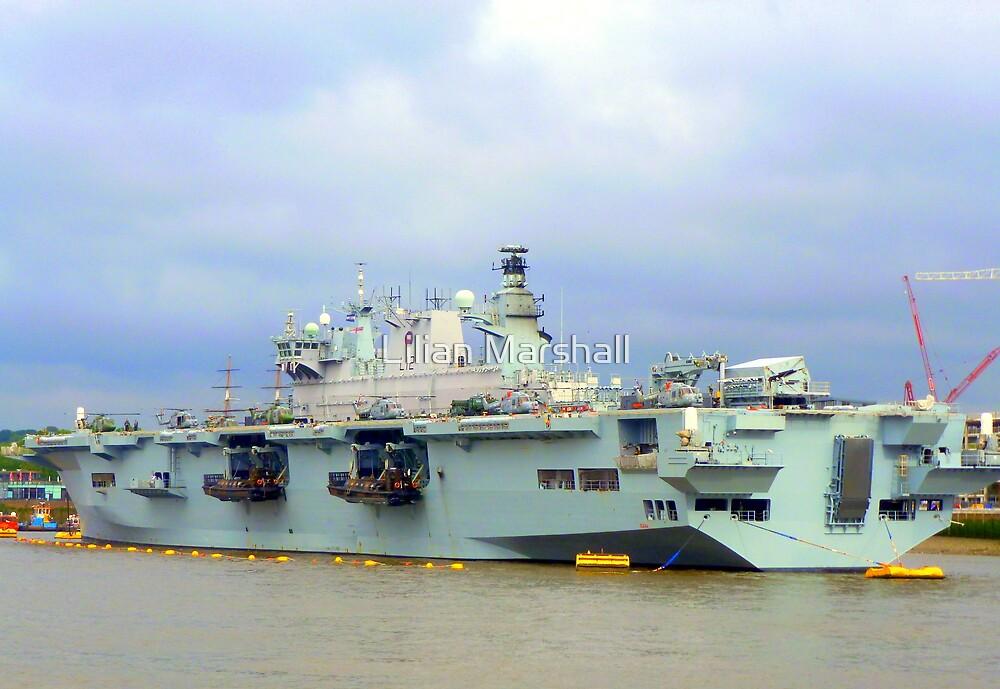 HMS Ocean. by Lilian Marshall