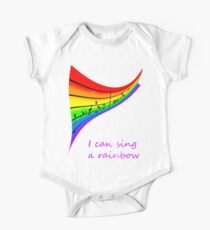 I can sing a rainbow Kids Clothes