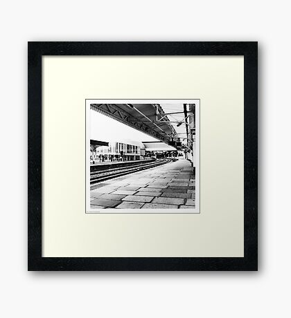 Newport Station Framed Print
