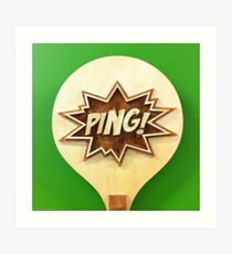 Pong Art Print