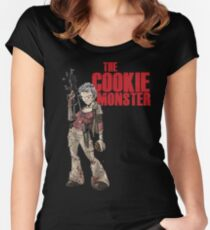 The Cookie Monster Women's Fitted Scoop T-Shirt