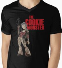 The Cookie Monster Men's V-Neck T-Shirt