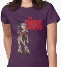 The Cookie Monster Womens Fitted T-Shirt